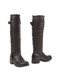 Francesco Milano Boots Dark Brown