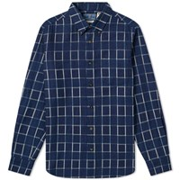 Blue Blue Japan Flannel Check Shirt Blue