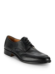 Saks Fifth Avenue Thomas Leather Lace Up Oxfords Black