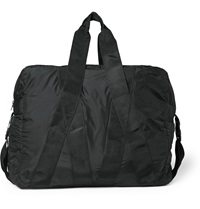 Christopher Raeburn Packaway Recycled Polyester Holdall Black