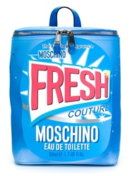 Moschino Fresh Print Backpack Blue