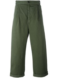 Henrik Vibskov 'Say' Trousers Green