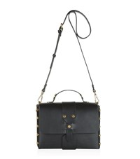 Sandro Abby Studded Satchel Female Black