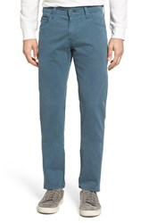 Ag Jeans Tellis Sud Modern Slim Stretch Twill Pants Sulfur Monsoon
