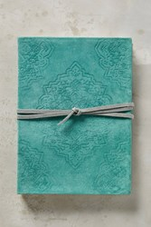 Anthropologie Baltic Journal Turquoise