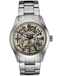 Kenneth Cole New York Men's Automatic Stainless Steel Bracelet Watch 44X52mm 10030815 Silver