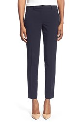 T Tahari Women's 'Marlena' Ankle Pants Navy
