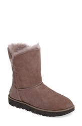 Uggr Women's Ugg Classic Cuff Short Boot Stormy Grey Suede