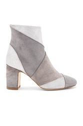 Polly Plume Ally Keywest Booties Metallic Silver