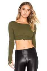 Free People New Wave Top Green