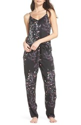 Josie Bardot Dreamland Pajamas Rose With Black