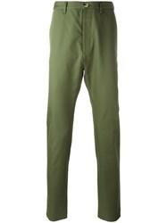 Vivienne Westwood Man Rear Patch Chinos Green