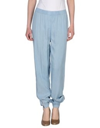 Selected Femme Casual Pants Sky Blue