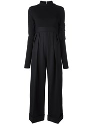 Alyx Belted Palazzo Jumpsuit Black