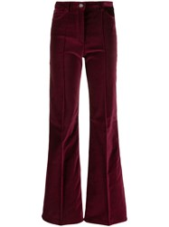 Tommy Hilfiger High Waisted Flared Trousers