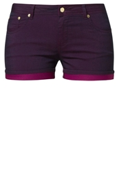 Evenandodd Shorts Purple
