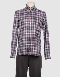 Jofre Shirts Long Sleeve Shirts Men Deep Purple