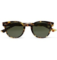 Cutler And Gross Round Frame Tortoiseshell Acetate Sunglasses Tortoiseshell