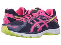 Asics Gel Excite 3 Midnight Hot Pink Flash Yellow Women's Running Shoes