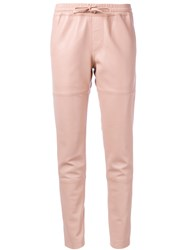 Zadig And Voltaire Tapered Joggers Pink Purple