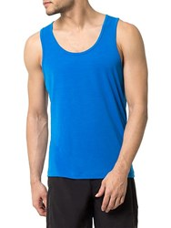 Mpg Spark Knit Tank Top Blue