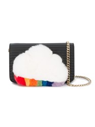 Les Petits Joueurs Ginny Shoulder With Fur Cloud Detail 60