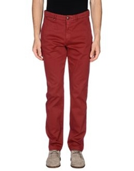 7 For All Mankind Casual Pants Maroon