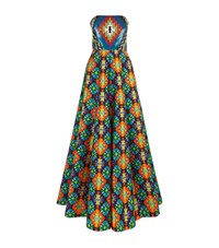 Andrew Gn Sequin Top Kaleidoscope Gown Female Multi