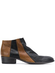 Fiorentini Baker Two Tone Ankle Boots 60
