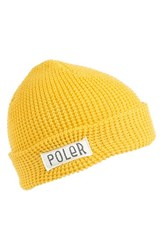 Men's Poler Stuff 'Worker Man' Beanie Yellow Saffron