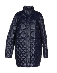 Jet Set Coats And Jackets Down Jackets Women Dark Blue