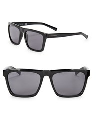 Calvin Klein 57Mm Square Sunglasses Black