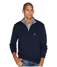 Nautica 12 Gauge 1 4 Zip Sweater Navy
