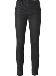 Diesel Black Gold Coated Skinny Jeans