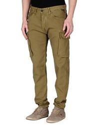 Replay Casual Pants Military Green