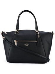 Coach Medium Detachable Strap Tote Black