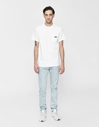 Obey S S Eyes Pocket Tee In White