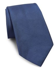 Polo Ralph Lauren Silk Micro Faille Tie Light Navy