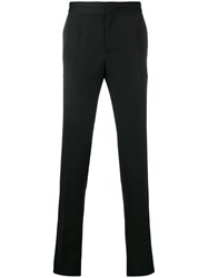 Versace Tailored Tapered Trousers Black