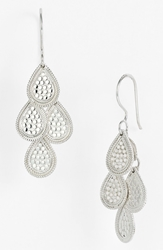 Anna Beck 'Gili' Chandelier Earrings Sterling Silver