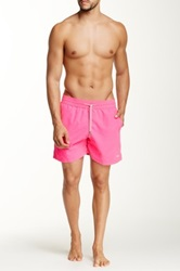 Le Club Neon Fuchsia Swim Short Pink