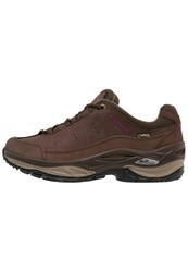 Lowa Toro Ii Gtx Hiking Shoes Espresso Aubergine Brown
