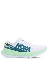 Hoka One One Carbon X Running Sneakers White