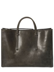 Rick Owens Leather Tote Bag