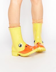 Juju X Kigu Duck Short Wellies Duck