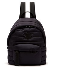 Moncler Quilted Nylon Backpack Navy
