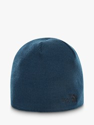 The North Face Bones Beanie Hat One Size Blue Wing Teal