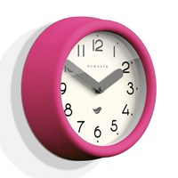Newgate Clocks The Pantry Wall Clock Hot Pink