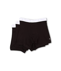 Original Penguin 100 Cotton 3 Pack Boxer Brief Black Men's Underwear