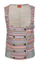 Missoni Double Breasted Vest Multi